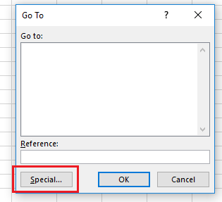 Търсене на грешки в Excel с CTRL+G p.1