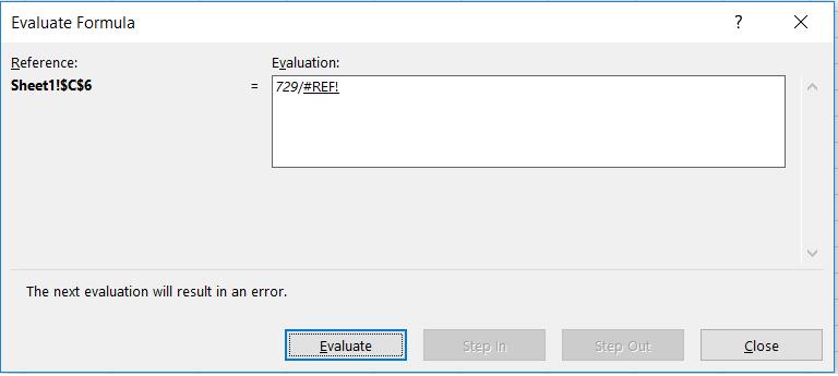 Търсене на грешки в Excel с Error Checking p.5
