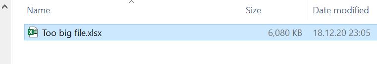 голям файл в Excel
